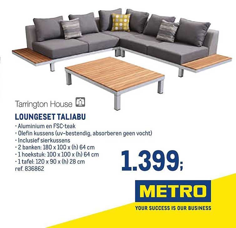 METRO Tarrington House Loungeset Taliabu