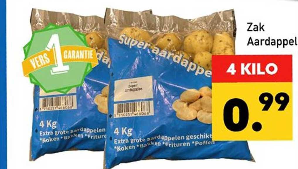 Tanger Markt Zak Aardappel