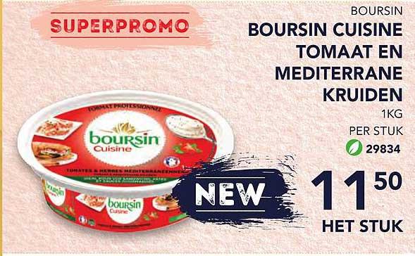 Bidfood Boursin Cuisine Tomaat En Mediterrane Kruiden