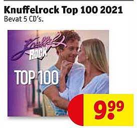Kruidvat Knuffelrock Top 100 2021