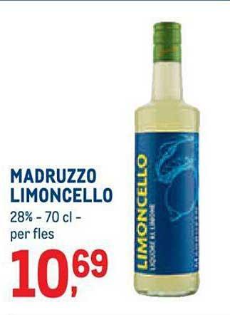 METRO Madruzzo Limoncello