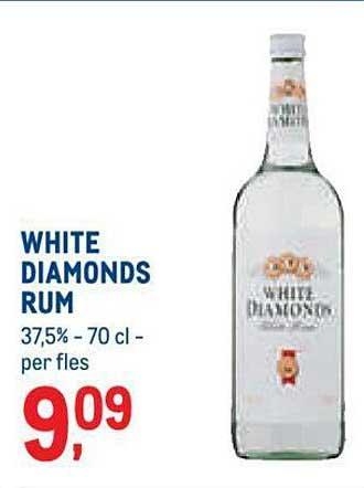 METRO White Diamonds Rum