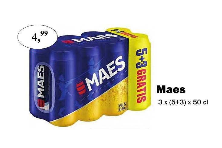 Maconal Food Maes 5+3 Gratis