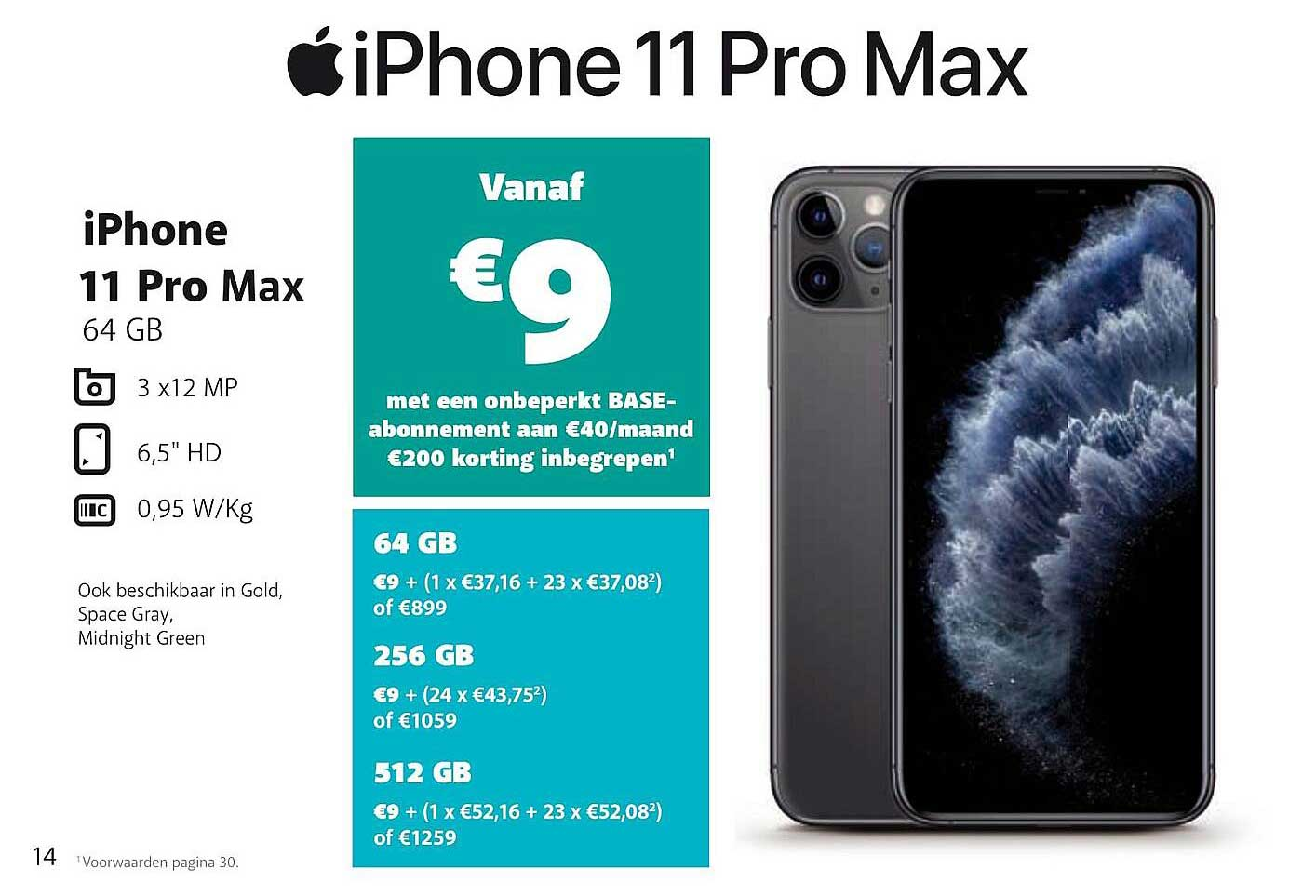 Base Apple Iphone 11 Pro Max