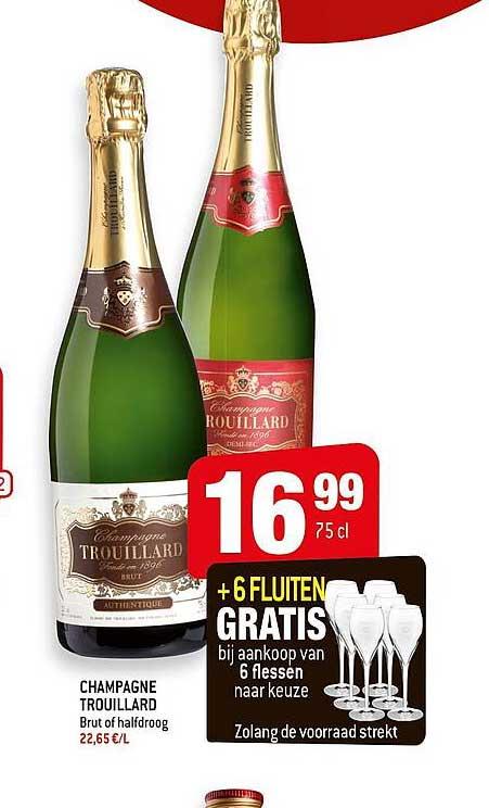 Smatch Champagne Trouillard