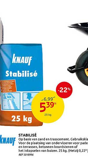 Brico Knauf Stabilise