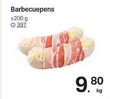 Buurtslagers Barbecuepens 200 G