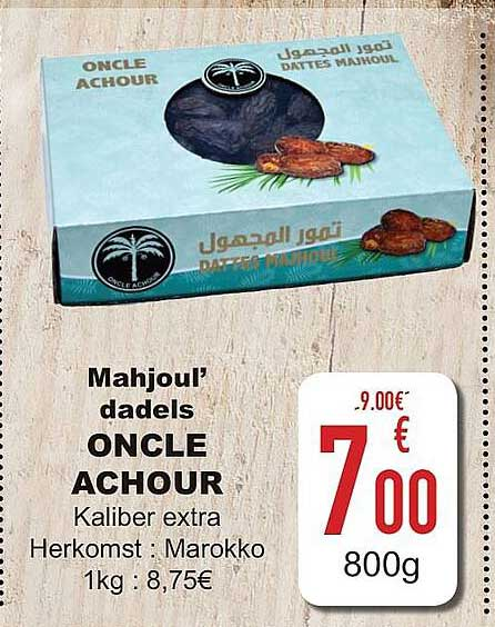Cora Mahjoul' Dadels Oncle Achour