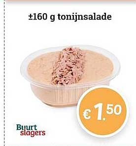Buurtslagers Tonijnsalade 160 G