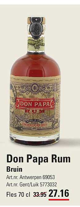 ISPC Don Papa Rum Bruin