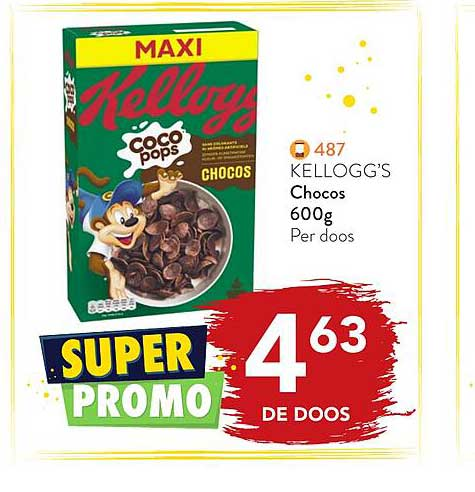 Bidfood Kellogg's Chocos