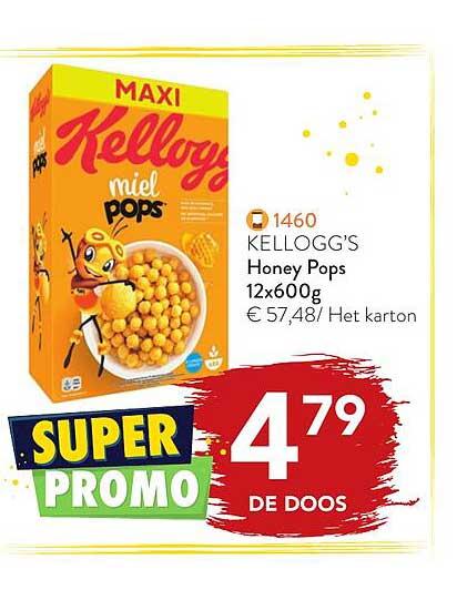 Bidfood Kellogg's Honey Pops