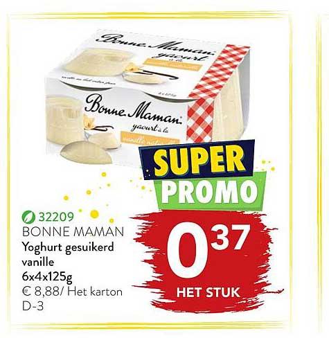 Bidfood Yoghurt Gesuikerd Vanille
