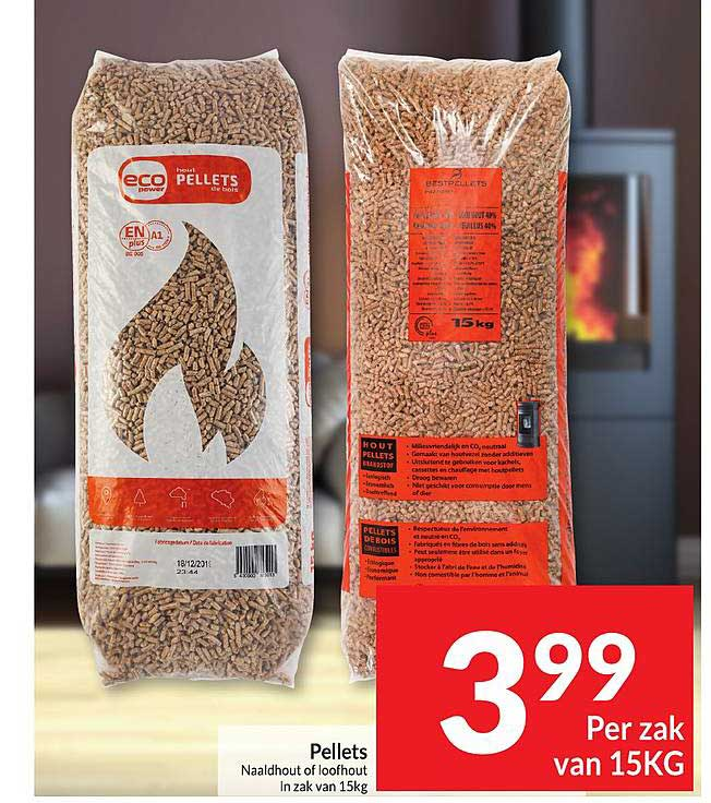 Intermarché Pellets Naaldhout Of Loofhout