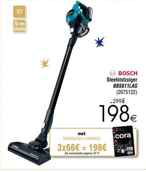 Cora Bosch Steelstofzuiger Bbs611lag