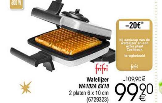 Cora Frifri Wafelijzer Wa102a