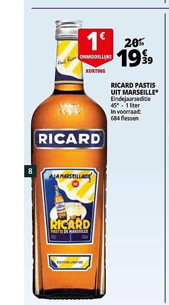 Auchan Ricard Pastis Uit Marseille