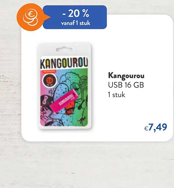 OKay Supermarkt Kangourou Usb 16 Gb