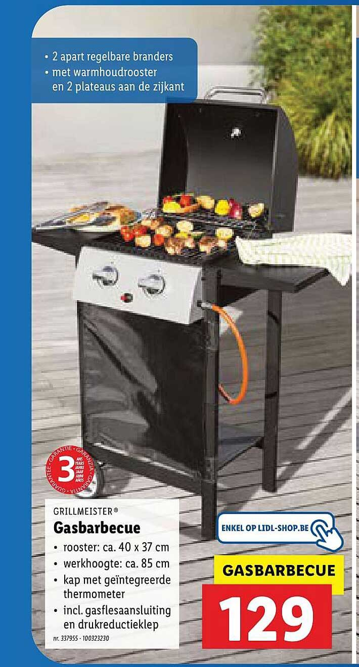 Lidl Grillmeister Gasbarbecue