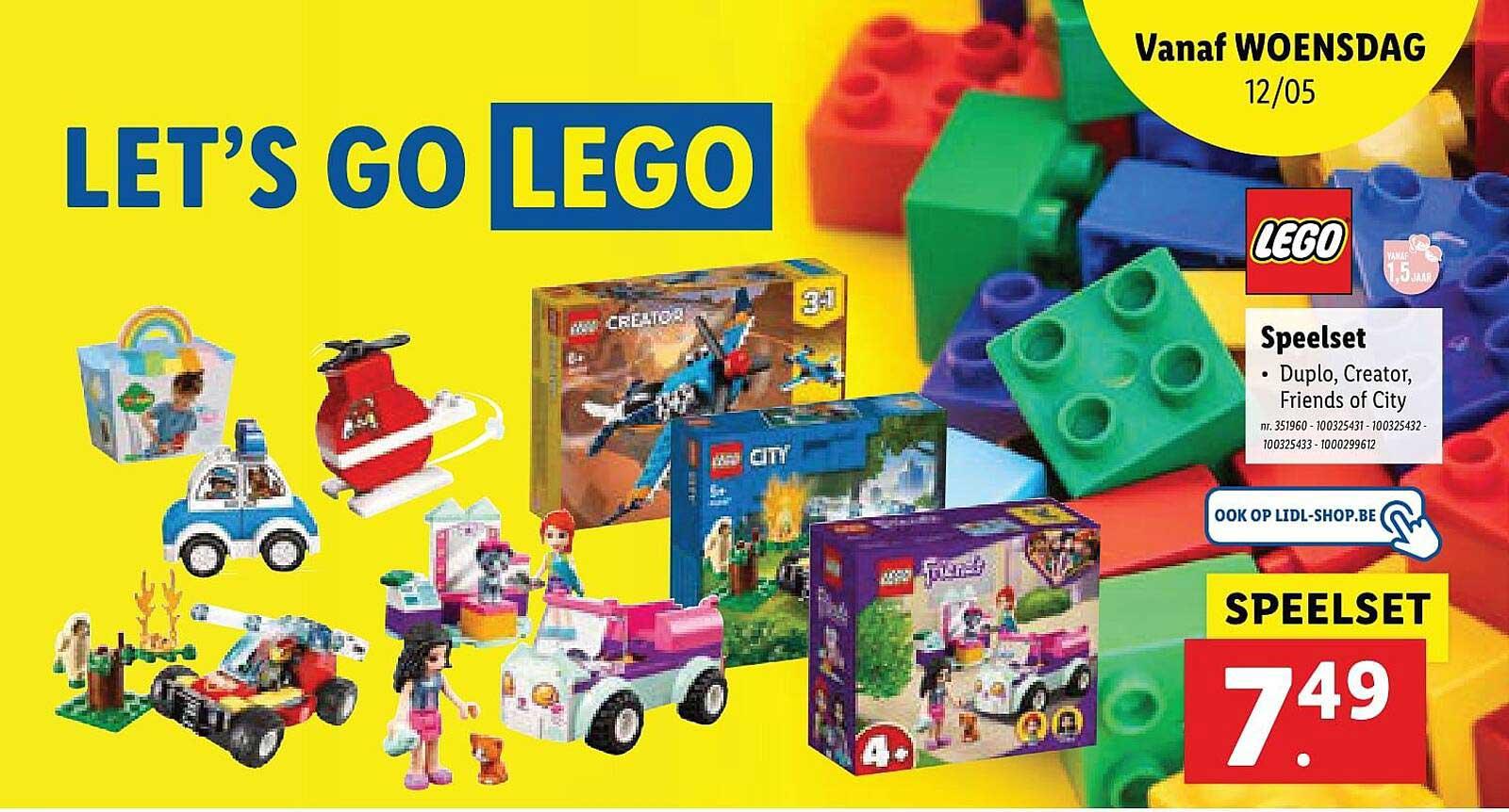 Lidl Lego Speelset Duplo, Creator, Friends Of City