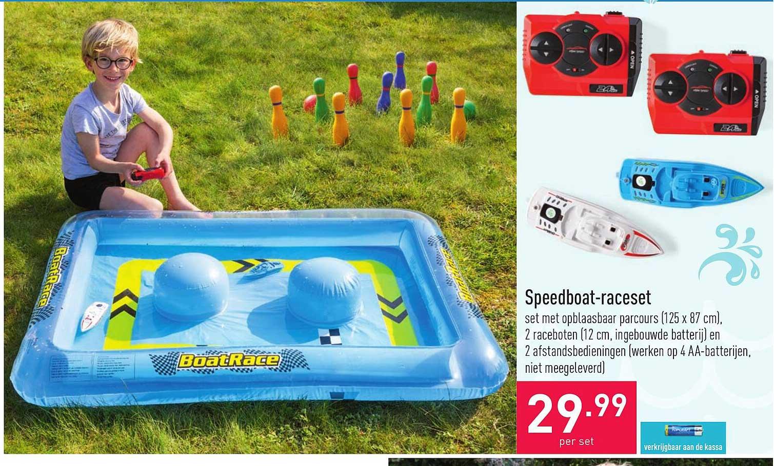 ALDI Speedboat-raceset