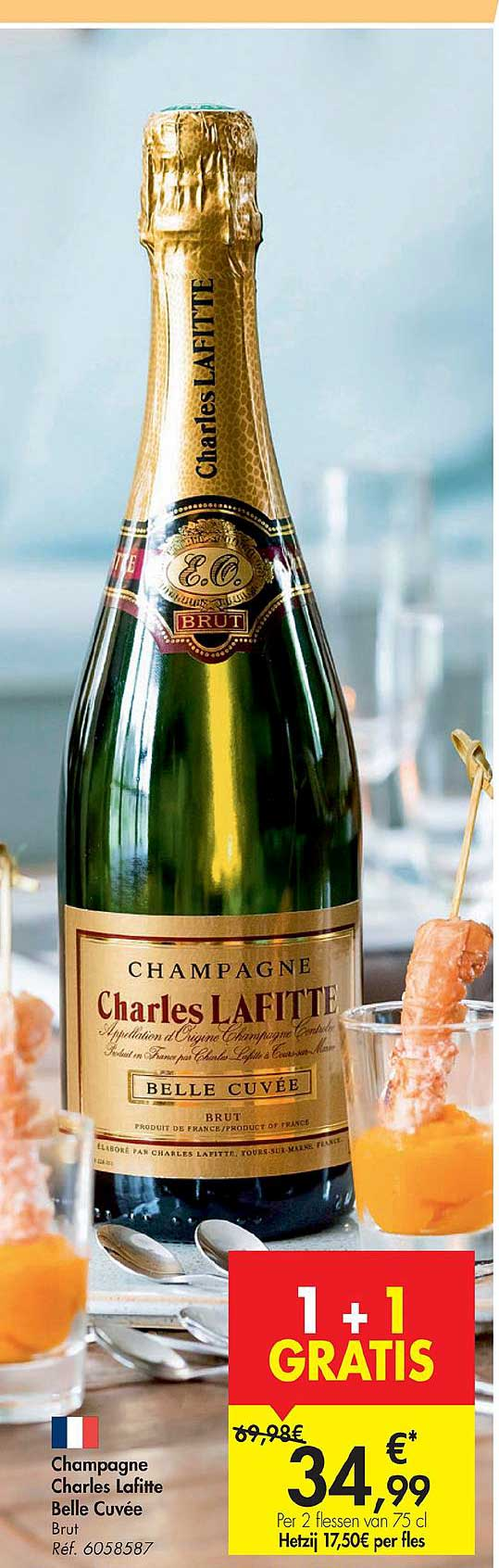 Carrefour Champagne Charles Lafitte Belle Cuvee