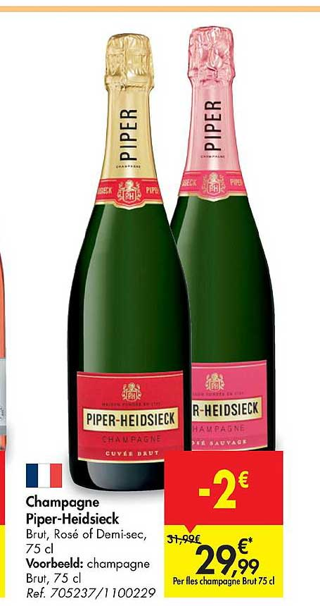 Carrefour Champagne Piper-heidsieck