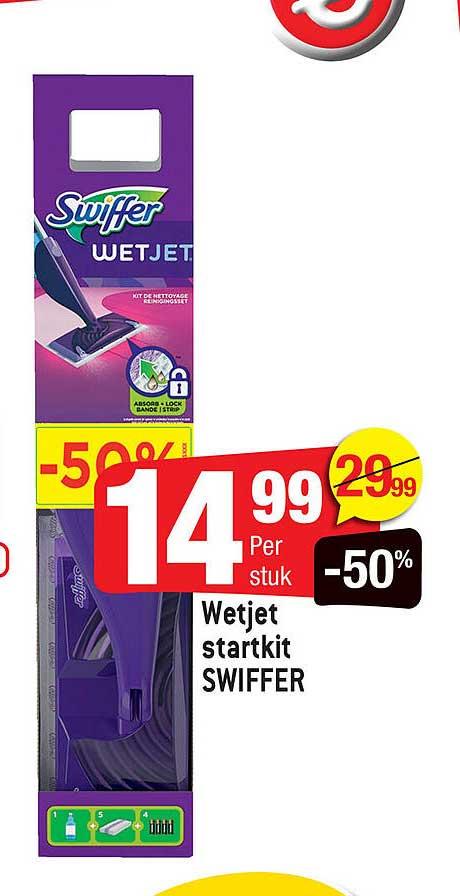 Smatch Wetjet Startkit Swiffer