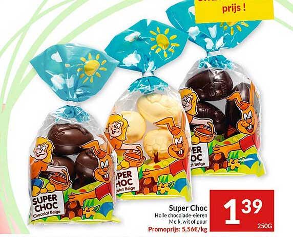 Intermarché Super Choc Holle Chocolade-eieren