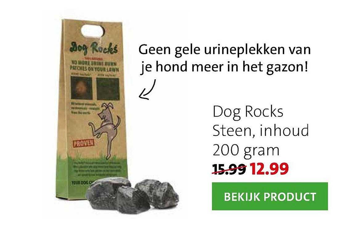 Intratuin Dog Rocks Steen, Inhoud 200 Gram