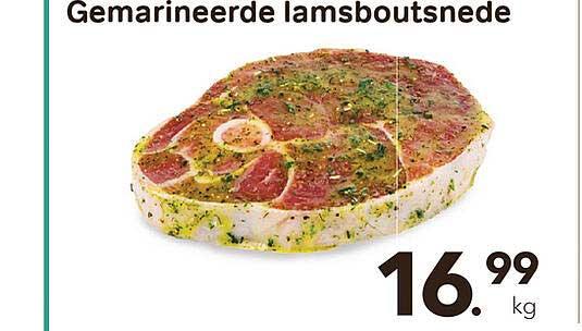 Bon Ap Gemarineerde Lamsboutsnede