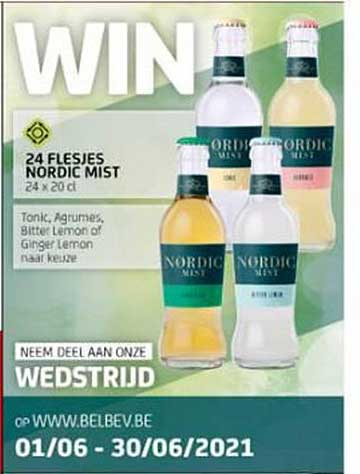 BelBev 24 Flesjes Nordic Mist