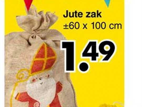 Wibra Jute Zak