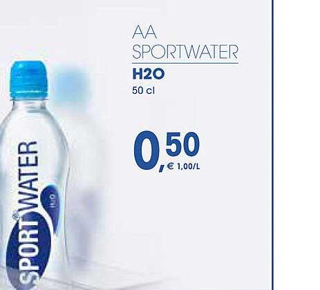 Prik En Tik Aa Sportwater H2o