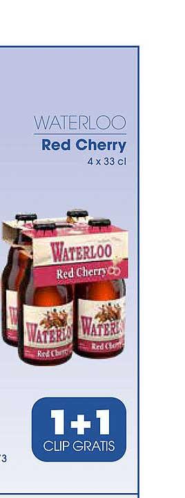 Prik En Tik Waterloo Red Cherry