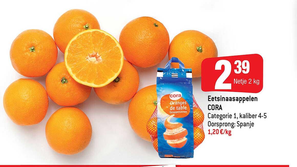 Smatch Eetsinaasappeln Cora