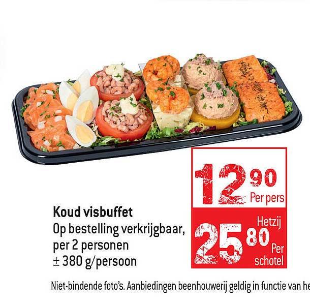 Smatch Koud Visbuffet