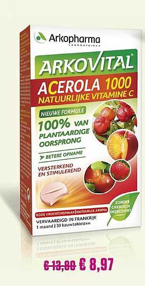 Medi Market Arkopharma Arkovital Acerola 1000