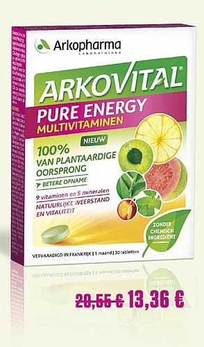 Medi Market Arkopharma Arkovital Pure Energy Vitaminen