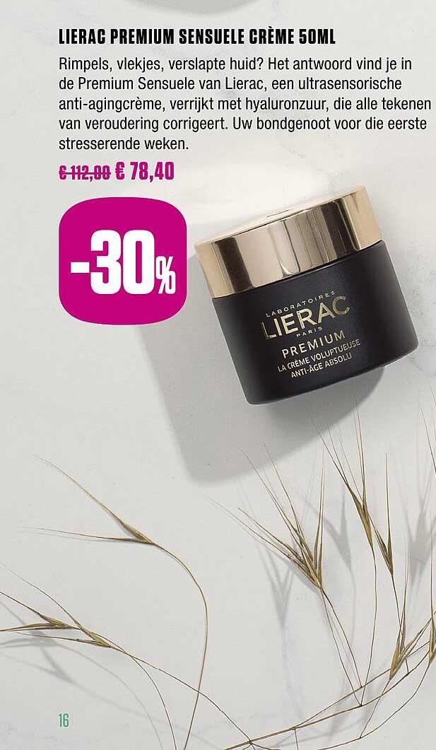 Medi Market Lierac Premium Sensuele Creme 50 Ml