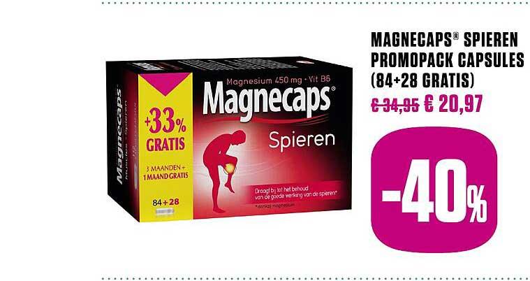 Medi Market Magnecaps Spieren Promopack Capsules