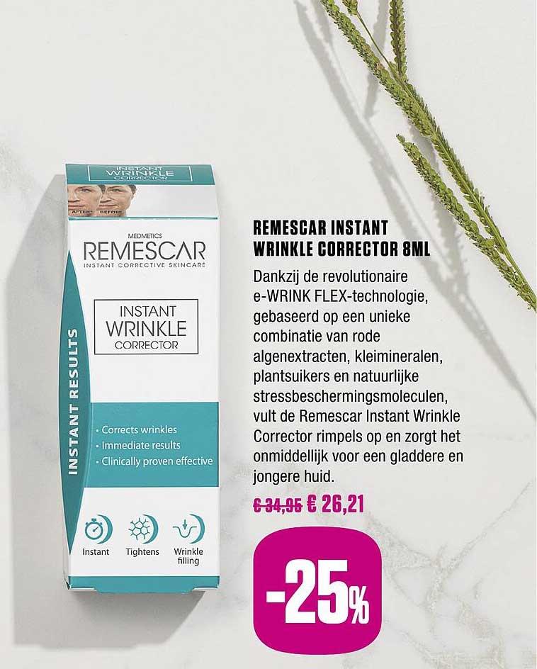 Medi Market Remescar Instant Wrinkle Corrector 8ml