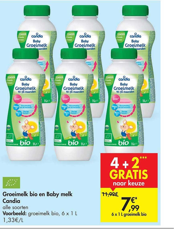 Carrefour Market Groeimelk Bio En Baby Melk Candia
