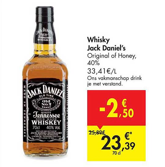 Carrefour Market Whisky Jack Daniel's