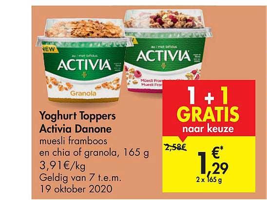 Carrefour Market Yoghurt Toppers Activia Danone