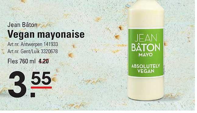 ISPC Jean Bâton Vegan Mayonaise