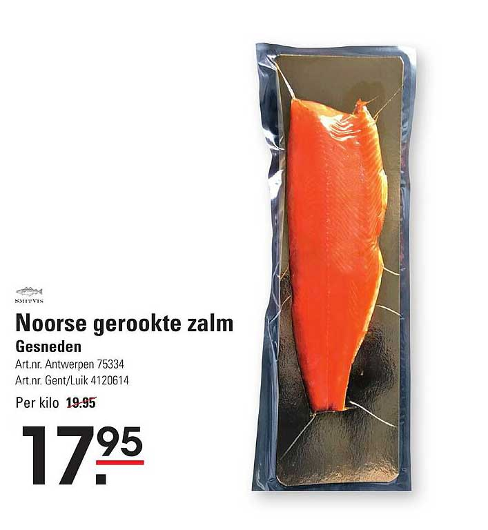 ISPC Noorse Gerookte Zalm