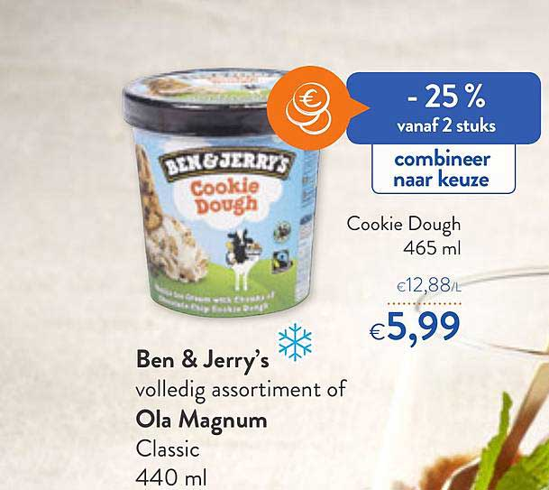 OKay Supermarkt Ben & Jerry's Cookie Dough