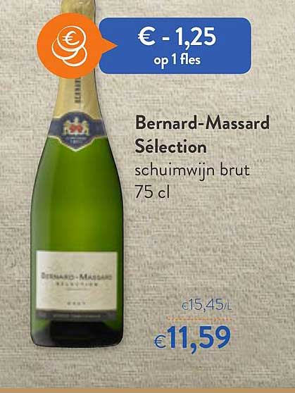 OKay Supermarkt Bernard Massard Selection Schuimwijn Brut