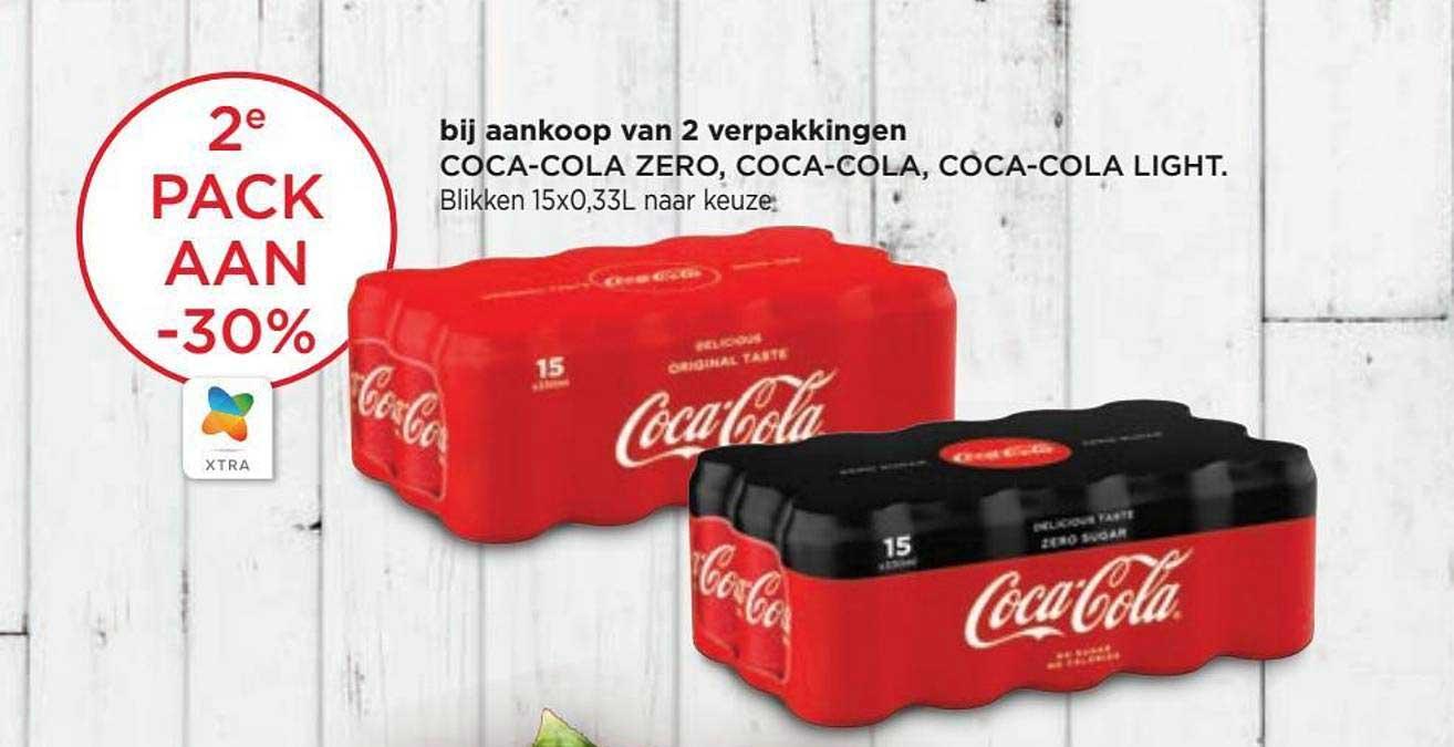 Spar Colruyt Coca Cola Zero Of Light